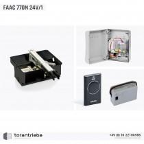 Set Unterflurantrieb FAAC 770 24V/1