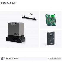 Set Schiebetorantrieb FAAC 740