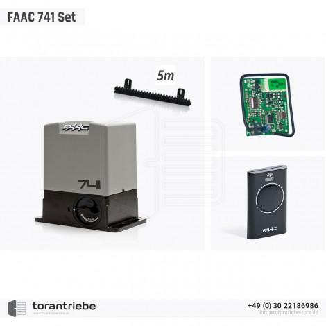 Set Schiebetorantrieb FAAC 741