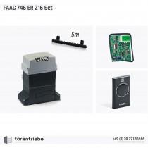 Set Schiebetorantrieb FAAC 746 ER Z16