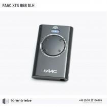 Handsender FAAC XT4 868 SLH LRB schwarz