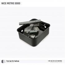 Unterflurantrieb NICE METRO 3000 incl. Montagewanne