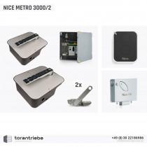 Set Unterflurantrieb NICE METRO 3000/2