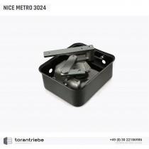 Unterflurantrieb NICE METRO 3024 incl. Montagewanne