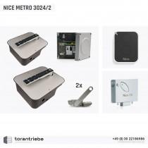 Set Unterflurantrieb NICE METRO 3024/2