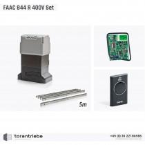 Set Schiebetorantrieb FAAC 844 R 400V