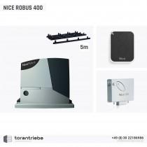 Set Schiebetorantrieb NICE ROBUS 400