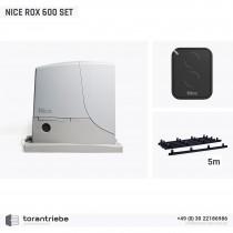Set Schiebetorantrieb NICE ROX 600