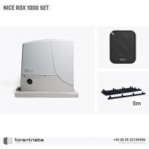 Set Schiebetorantrieb NICE ROX 1000